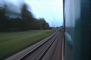 Trans-Siberian at speed